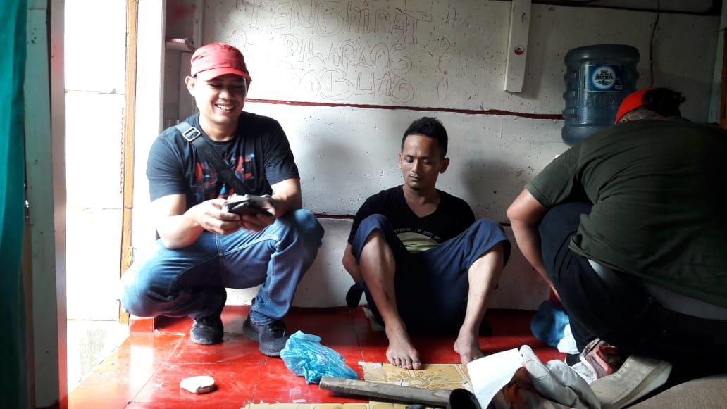 Hasil Informasi Warga, Polrestabes Medan Grebek Basis Narkoba
