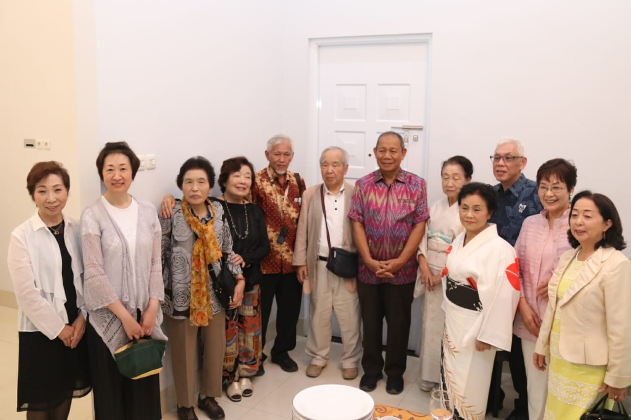 Lagu Indonesia Pusaka Dilantunkan dalam Jamuan Peringatan 30 Tahun Sister City Medan-Ichikawa