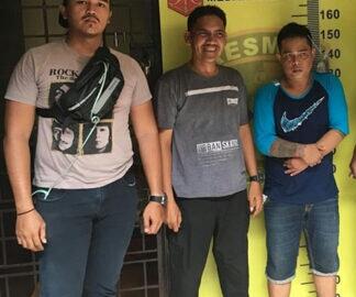 Gawat ! Pemuda Satu Ini Pakai Modus Nabrak Untuk Larikan Sepeda Motor Korban Akhirnya Berhasil Diamankan Team Pegasus Polsek Medan Area