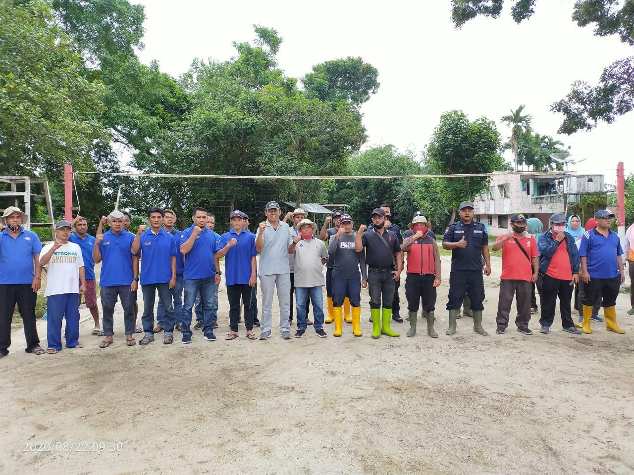 PTPN 4 Unit Kebun Laras Gotroy Bersama Masyarakat Di Objek Wisata Karang Anyar Simalungun
