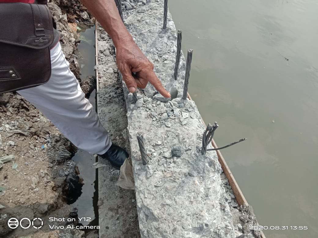 Gawat !!! Di Nelayan Indah, Proyek Siluman Berjalan Tanpa Pengawasan