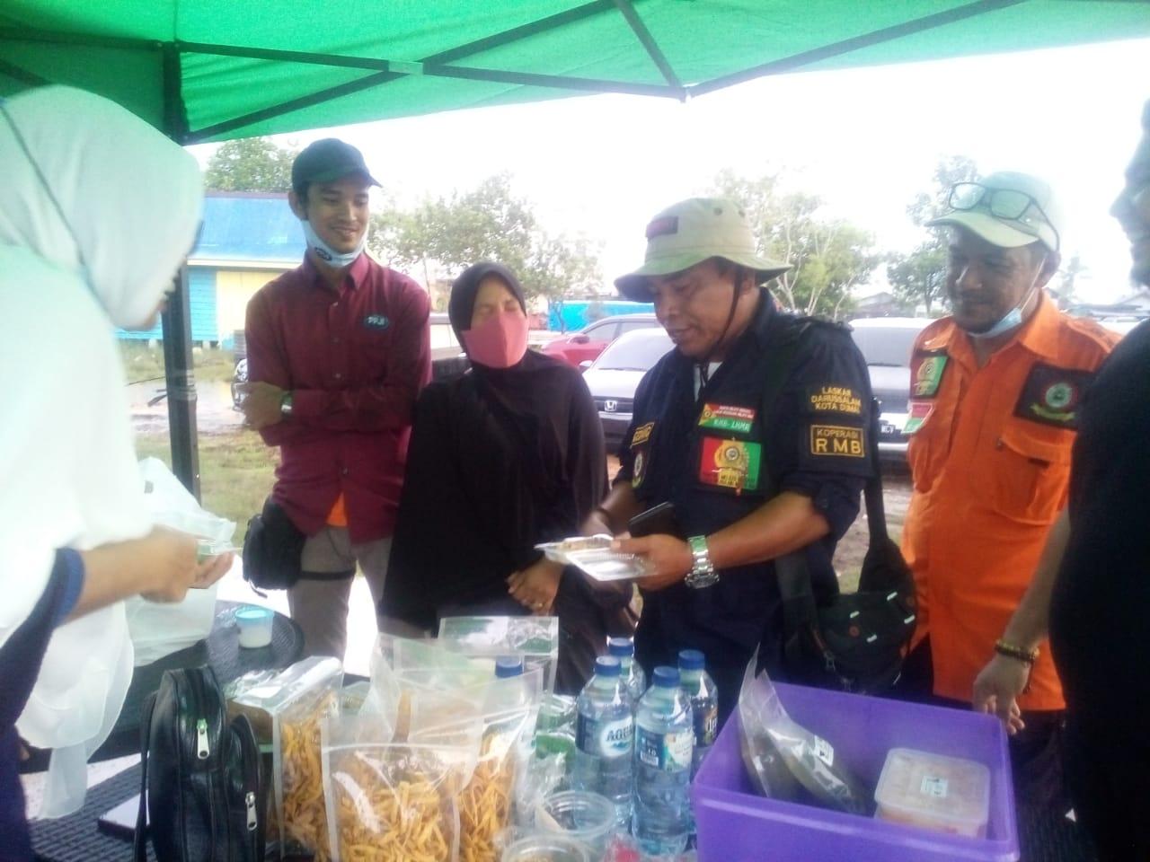 Panglimo RMB-LHMR Haji Awaluddin Beri Apresiasi Pada Bazar UMKM Oleh DPC PPJI Kota Dumai