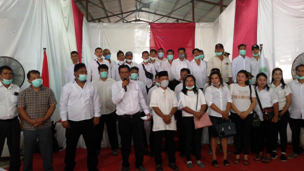 HM.Idaham Lantik IPPB, Penggurus Ikatan Pajak Pasar Binjai