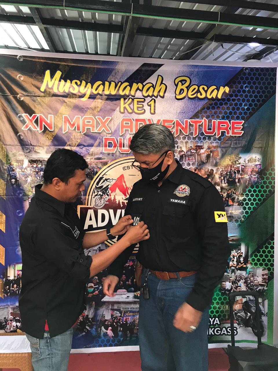 XNMAX_adventure Dumai Gelar Musyawarah Besar Kepengurusan