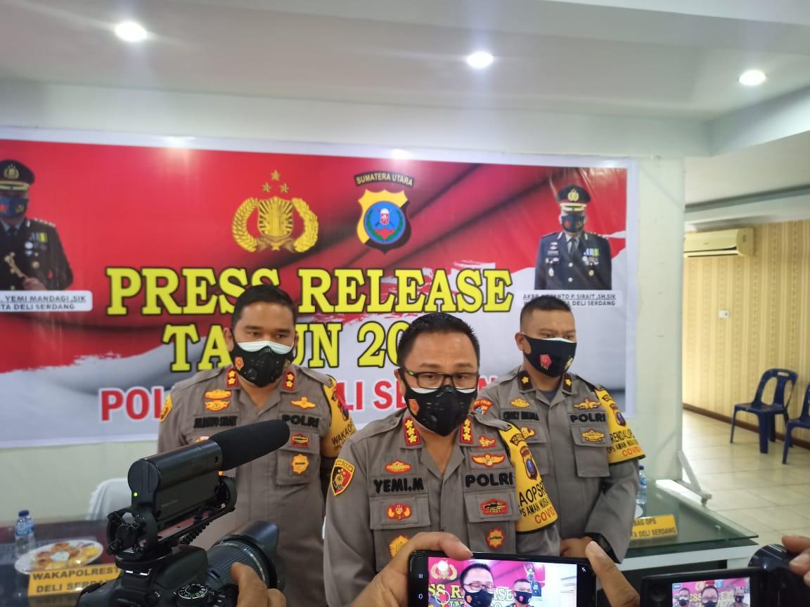 Kombes Pol Yemi Mandagi Larang Pesta Kembang Api Sambut Malam Penggantian Tahun