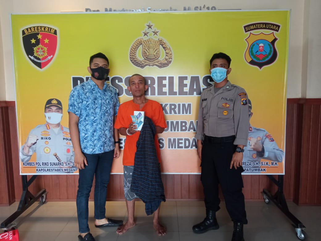 Tekab Polsek Patumbak Ringkus Satu Dari Tiga, Pelaku Spesialis Rampok Di Angkot.