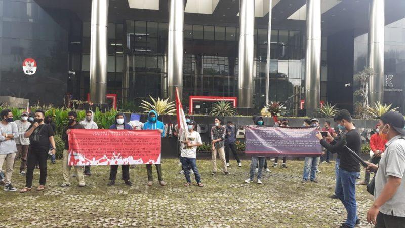 AMSUB Gelar Aksi, Minta KPK Periksa Anggota DPRD Deli Serdang Terkait Perjalanan Program BIMTEK ke Bandung