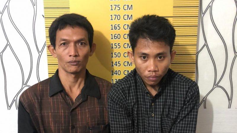 Dua Tersangka Tindak Pidana Penyalahgunaan Sabu Diciduk Unit Opsnal Sat Resnarkoba Polres Langsa