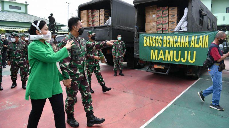 Tiga Kapal TNI AD Angkut Bantuan Kemanusiaan Menuju Kalsel dan Sulbar
