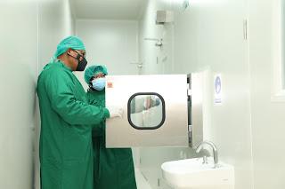 Peresmian Laboratorium PCR RS Bhayangkara TK II Oleh Kapolda Sumut