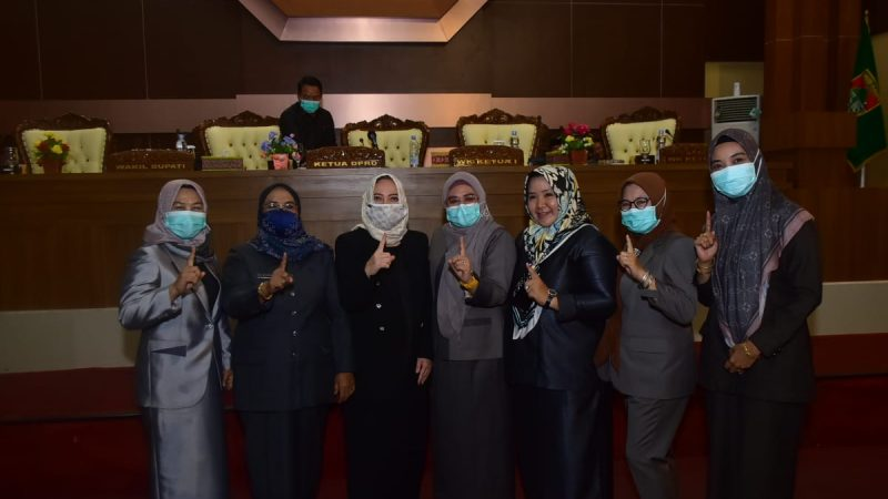 DPRD Musi Rawas Umumkan Hj.RatnaMahmud – Hj Suwarti Sebagai Pemenang Pilkada