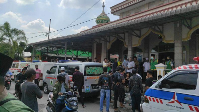 Braak..! Kecelakaan Maut Terjadi di Jalan Lintas Medan-P.Siantar Avanza VS Intra , 9 Nyawa Satu Keluarga Melayang