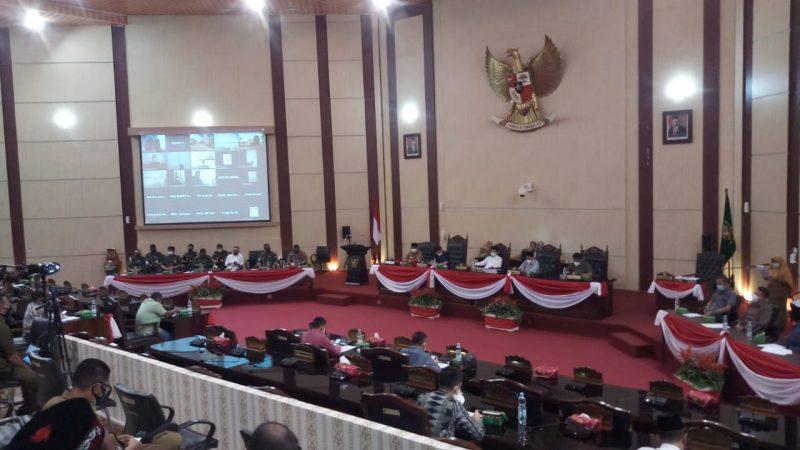 Paripurna Usulan Pengesahan Calon Walikota Medan