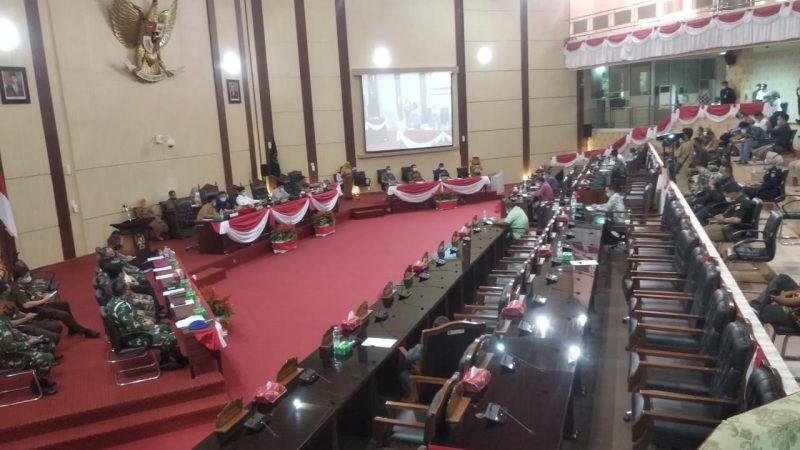 Paripurna Pengusulan Pengangkatan Calon Walikota dan Calon Wakil Walikota Medan