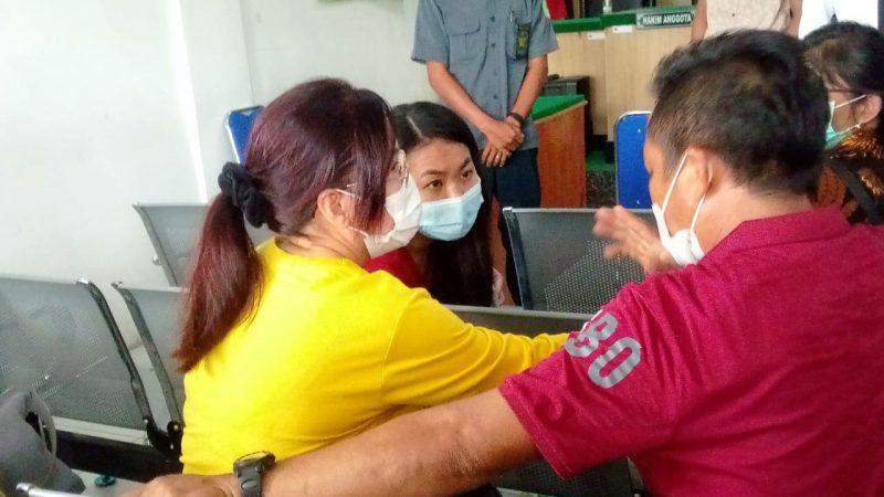 Kasus Asusila Balita Anak kandung, Happy Kecewa dan Desak JPU Keluarkan Surat DPO Johan Wijaya