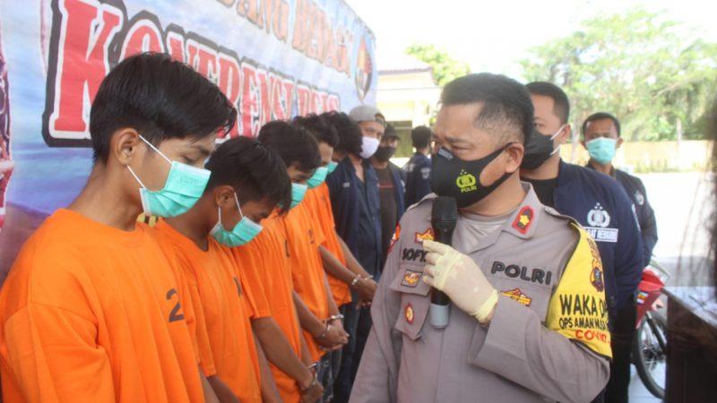 Akhirnya, 5 Tersangka Pemerkosa Siswi SMP Digulung Polres Sergai