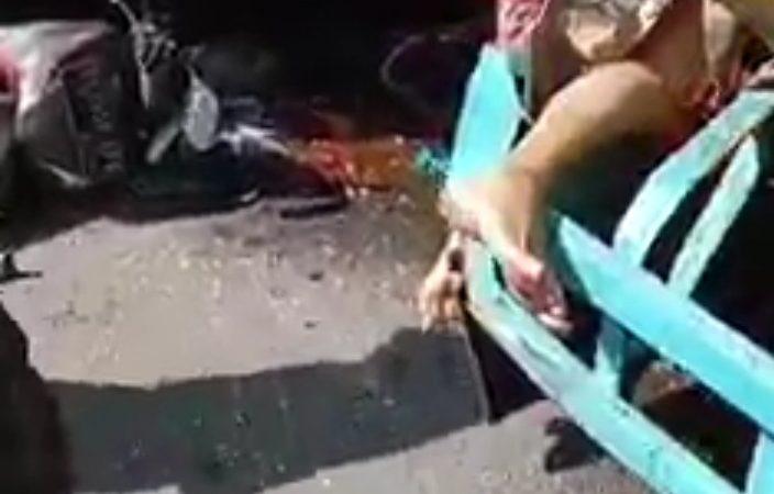 Lakalantas di Jalan Setia Budi Ujung Medan, Seorang Wanita Tewas Terlindas Truk