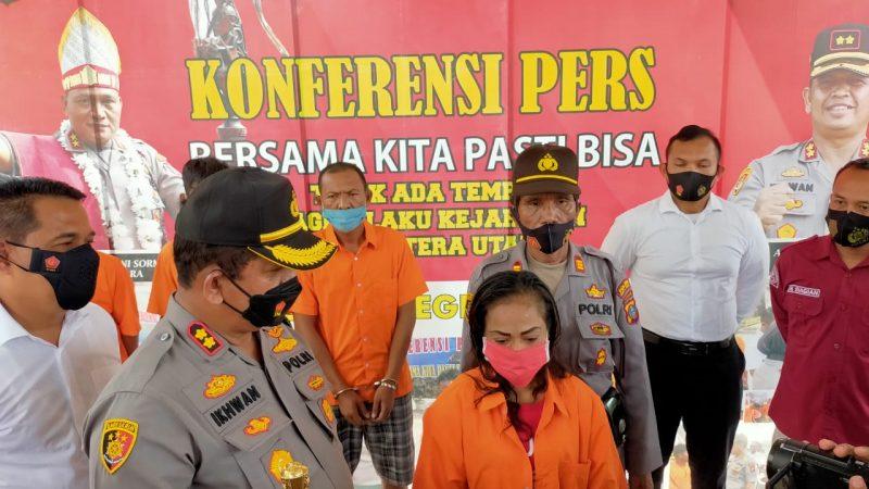 Sempat Menghebohkan Kota Tanjung Tiram,Tak Terima Hidup Susah Istri Bakar Rumah