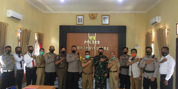 Bupati Muratara Hadiri Rapat Koordinasi Bersama Jajaran Polres Muratara Menghadapi Karhutla