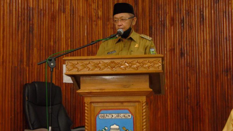 Bupati Sarolangun Buka Acara Forum Gabungan OPD