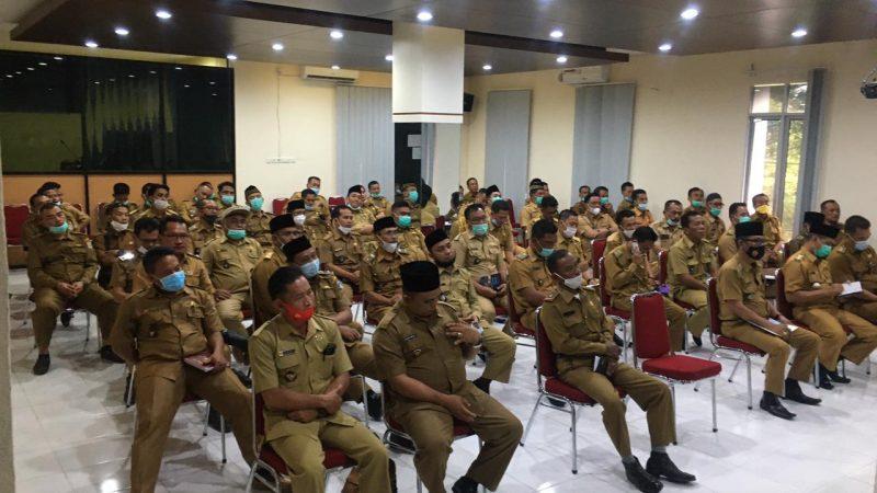 Bupati dan Wakil Bupati Muratara Adakan Rapat Harian Bersama OPD dan Kades Se- Muratara