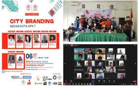 Perhumas BPC Medan Menggelar PR Talk Series dengan Tema City Branding: Medan Kota Apa?