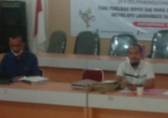 KPU Labuhanbatu Lakukan Pencermatan Terhadap DPT, DPTb, dan DPPh Terkait Pemilihan Ulang Labuhan Batu