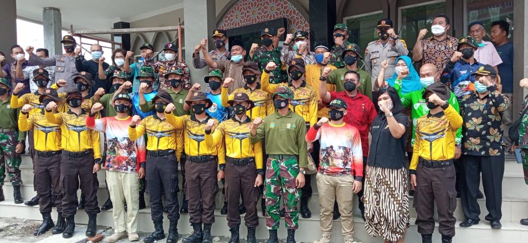 Latsitardanus 2021, Taruna Akpol dan TNI Bantu Pembangunan Masjid