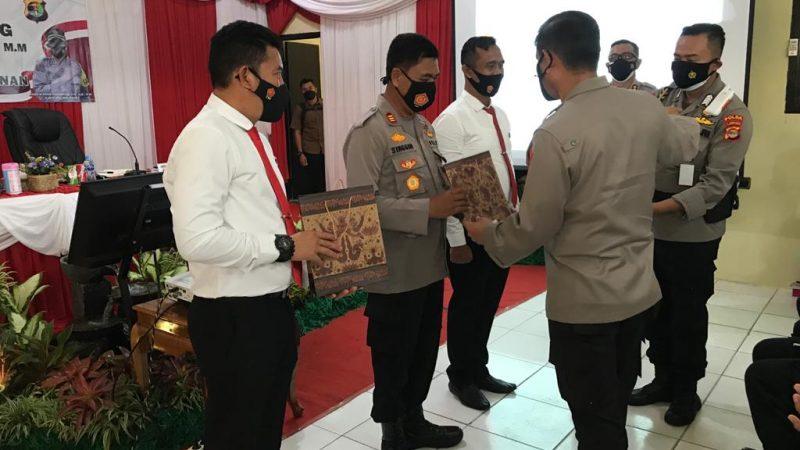 Kapolda Lampung Kunjungan Kerja ke Polres Way Kanan