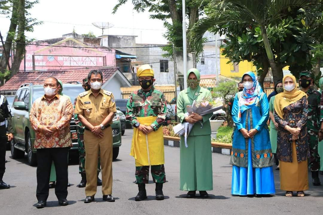 Pangdam I/BB Mayjen TNI Hassanudin Kunjungi Kota Rambutan