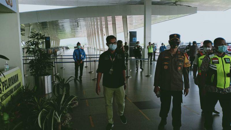 Pangdam I/BB dan Wakapolda Sumut Cek Kesiapan Petugas Pos Yan Bandara Kualanamu