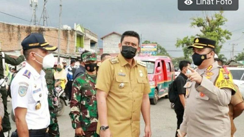 3 Titik Pos Penyekatan dan Pengamanan Lebaran Di Kota Medan
