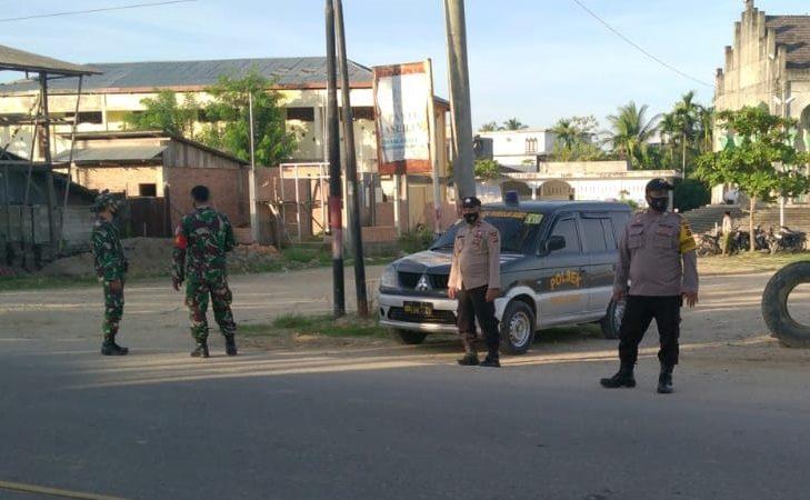 TNI POLRI Kompak Amankan Pelaksanaan Shalat Idul Fitri